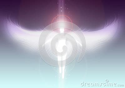 angel ascending  heaven stock photo image