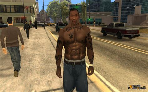cj tattoo tattoos for gta san andreas