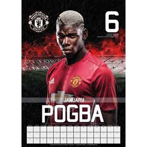 Calendario Manchester United Calendario 2018 Manchester Utd Europosters It
