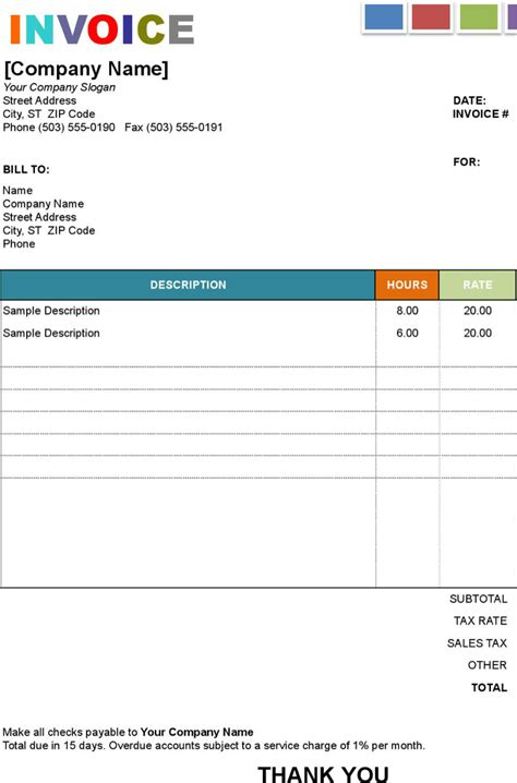 invoice exle template painting invoice template word rabitah net