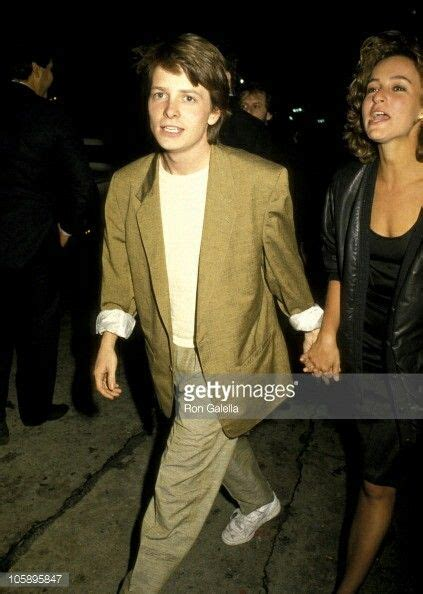 michael j fox jennifer grey michael j fox with jennifer grey tv in the 80 s