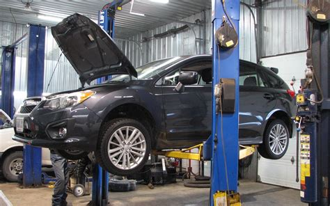 Garage Subaru by Le Module 233 Lectronique Sous Le Capot Est Plac 233 224 La Gauche