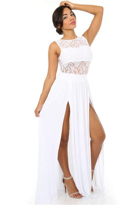 Dress Maleeka All Size 23 beautiful dresses white playzoa