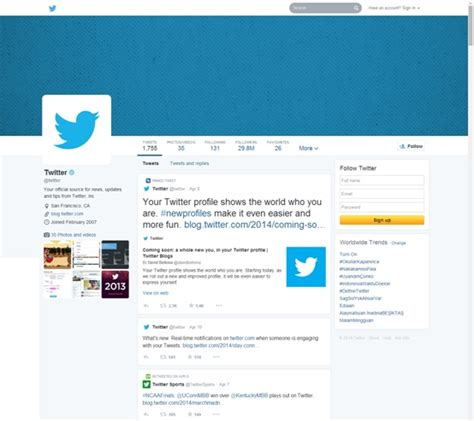 Blue Layout For Twitter | what does the new twitter layout mean for you