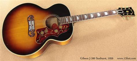 1959 Gibson J-200 Sunburst | www.12fret.com J 200