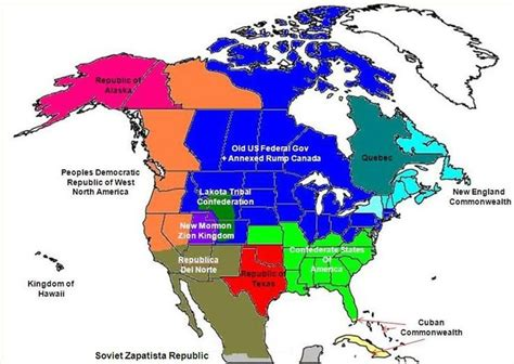 future map of america 56 best images about alternate america maps on