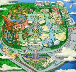 map disneyland florida chatting chocolate vacation happy