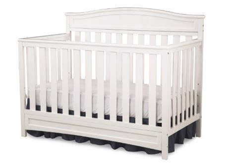 Cheap White Cribs by Delta Children Emery 4 In 1 Crib White Find Discount