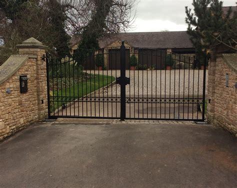 metal swing gate steel swing gates gdr gates and doors
