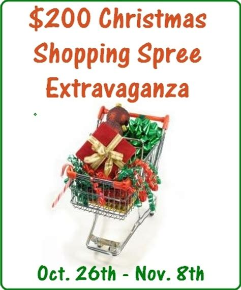 Free Shopping Spree Giveaway - ended 200 christmas shopping spree extravaganza giveaway baby coupons and stuff
