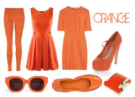 8 Orange And On Trend Accessories by 1001 Fashion Trends Neon Clothing Neon Clothes Neon