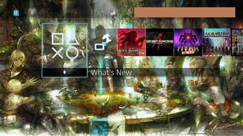 ps4 themes not available ffxiv ps4 theme available for download on japanese ps