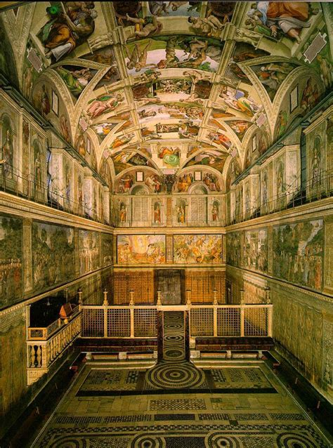 Where Is The Sistine Chapel Ceiling Located by