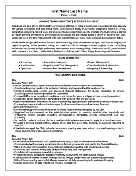 professional executive resume format 2015 marketing and payroll assistant resume template premium