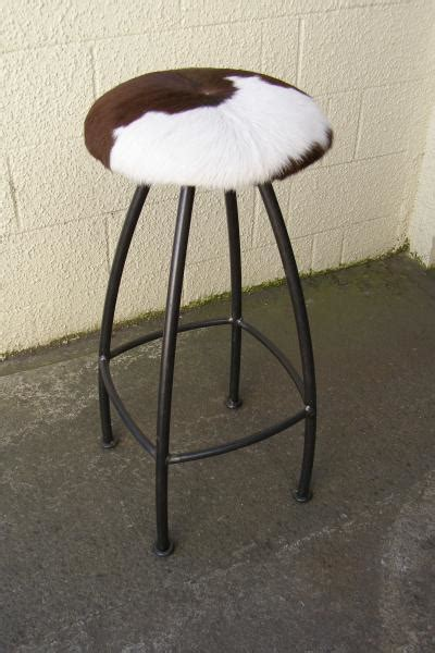 Cow Skin Bar Stools by Ironic Products 17 Lone Restaurants Cafe Bars