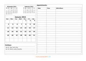 2016 daily printable appointment calendar calendar