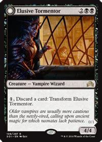 Hr The Elusive Lord Everhart elusive tormentor creature cards mtg salvation