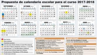 Calendario 2018 Baleares Borrador Calendario Escolar 2017 2018 Stecyl I