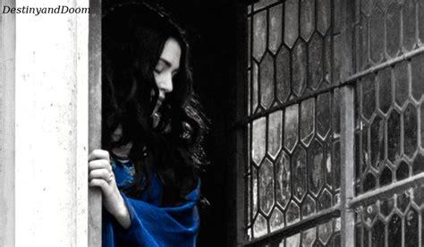 her bedroom window since morgana was ten years old she has been watching