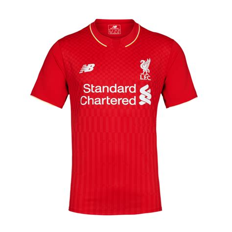 Kaos Day 17 lfc mens sleeve home shirt 15 16 liverpool fc