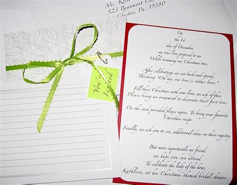 recipe poem for bridal shower invitations wedding