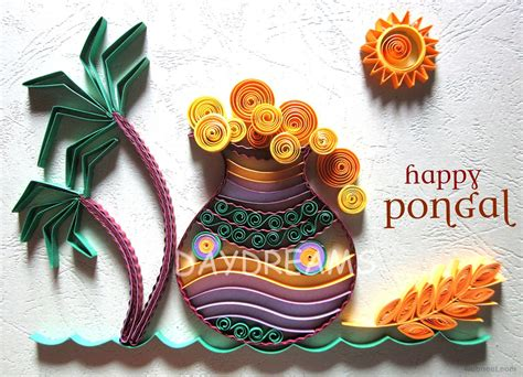 how to make pongal greeting card pongal greetings 10