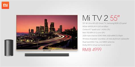 Xiaomi Tv 2 xiaomi tv 2 55 2 el androide libre