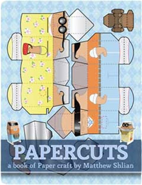 Papercraft Book - papercuts a book of papercraft by matthew shlian