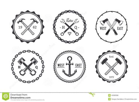 circle crafts emblems stock vector image of good vector