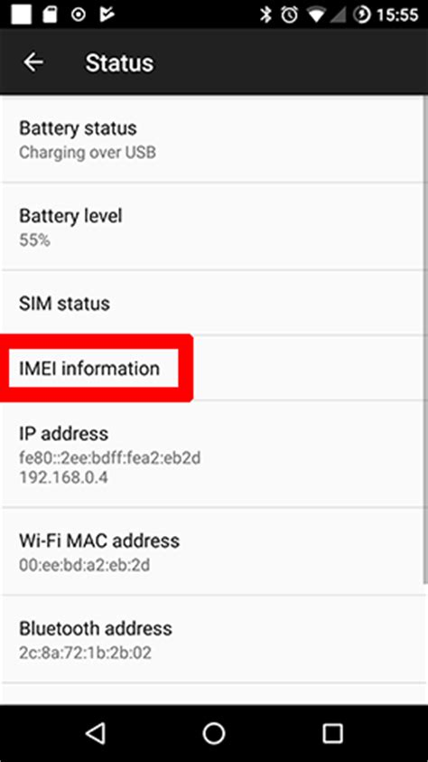 find imei android how to check the imei number on your phone make tech easier