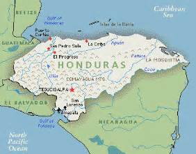 honduras map south america map of honduras map pictures