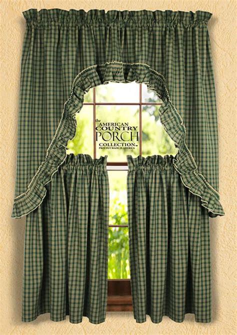 williamsburg curtains williamsburg green ruffled window curtain swags