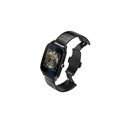 Asus Zenwatch2 Wi501q Grey Metal Straps Free Rubber asus zenwatch 2 gunmetal gray 41mm smart with hypercharge battery 1 63 inch amoled
