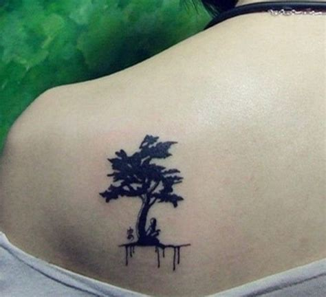 small oak tree tattoo small tree designs idea