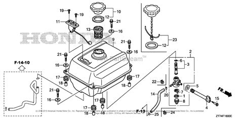 maker layout honda honda generator eu3000is parts diagram honda auto wiring