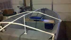 Diy Hard Floor Camper Trailer Plans small boat cover support diy