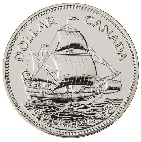1 Dollar Silver Coin 1979 - 1 1979 silver coin griffon tricentennial royal