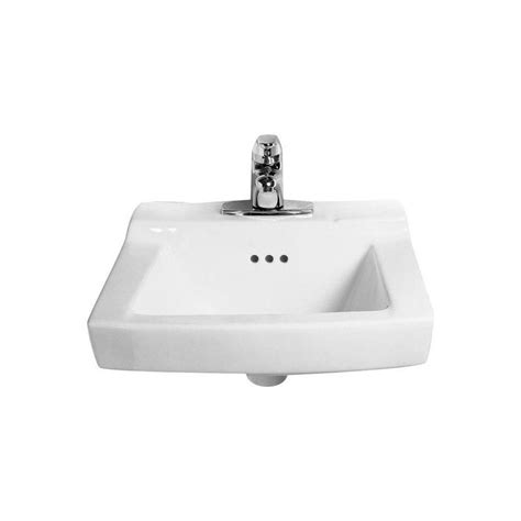 American Standard Porcelain Kitchen Sink by Faucet 0124 024 020 In White By American Standard