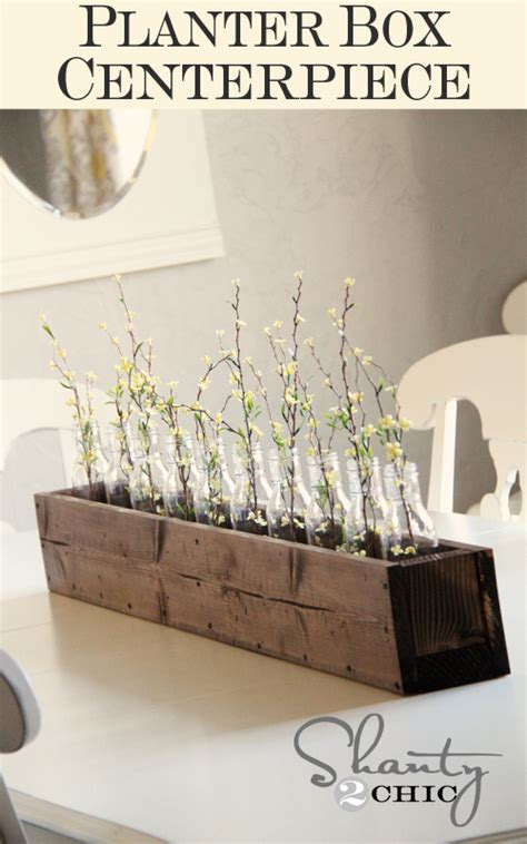 Diy Planter Box Centerpiece by Mexican Wedding Favors Wedding Centerpiece Trends