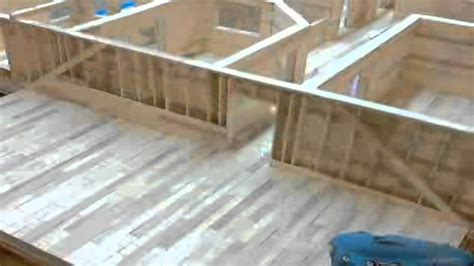 how much to build a room above the garage 8 popsicle house build time lapse building roof and room above garage