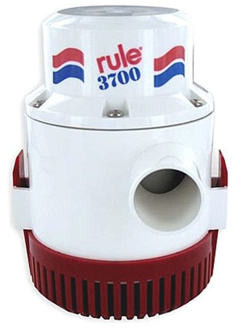 section 14a rule 14a bilge pump 3700gph 12v