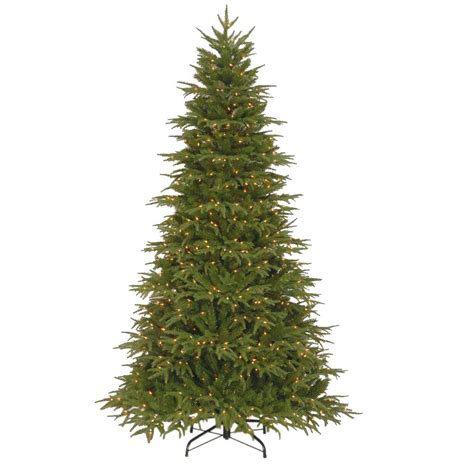home accents holiday 75 frasier fir national tree company 7 5 ft northern frasier fir artificial tree with clear lights