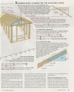 Dormer Window Construction Details Fine Homebuilding Headline Article Doghouse Dormers