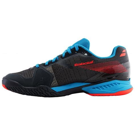 footwear tennis shoes babolat jet ac mens tennis shoes footwear 2017 grey blue