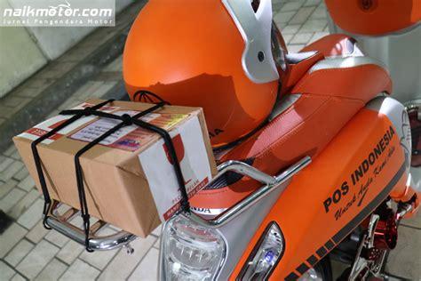 Cover As Depan Dop As Depan Cnc Sct 6365 Silver menganyekan layanan pos indonesia dengan modifikasi scoopy