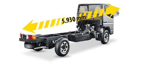 mitsubishi colt diesel fe 71 bc chassis 110 ps