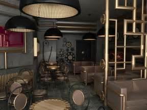 Steampunk design style steampunk interiors