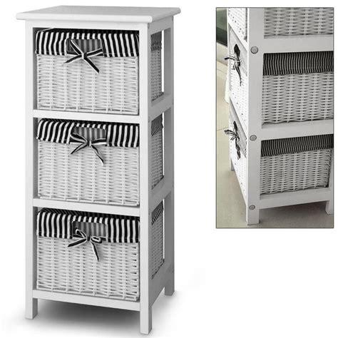 storage cabinets with wicker baskets 3 storage with 3 baskets shelf storage