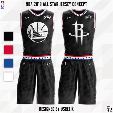 Jersey Basketball Nba srelix nba jersey concepts
