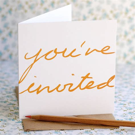 general invitation you are invited floral card stock illustration